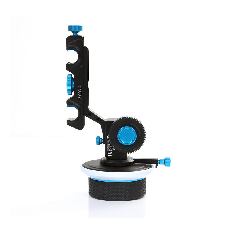 FILMCITY DP500 DSLR Follow Focus for 15mm Rail Rod Support Video ...