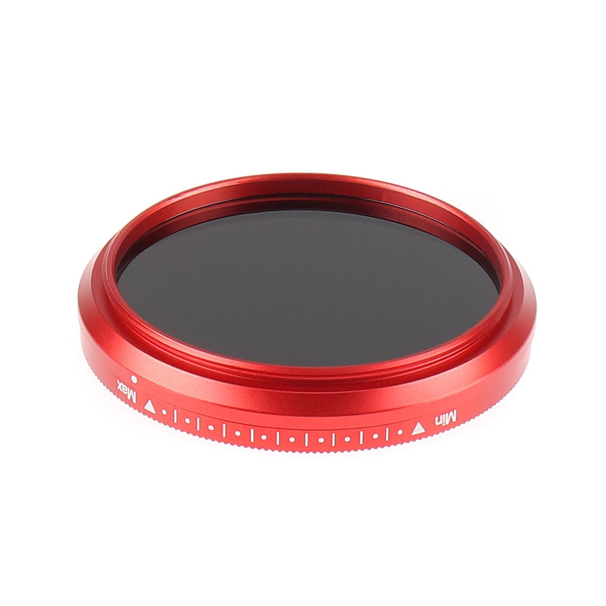 Fotga Slim Fader Variable ND Filter Adjustable ND2 to ND400 49mm Neutral Density Optical Glass for Camera Lens